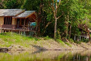 Khao Sok Riverside Cottages - khao sok lodging