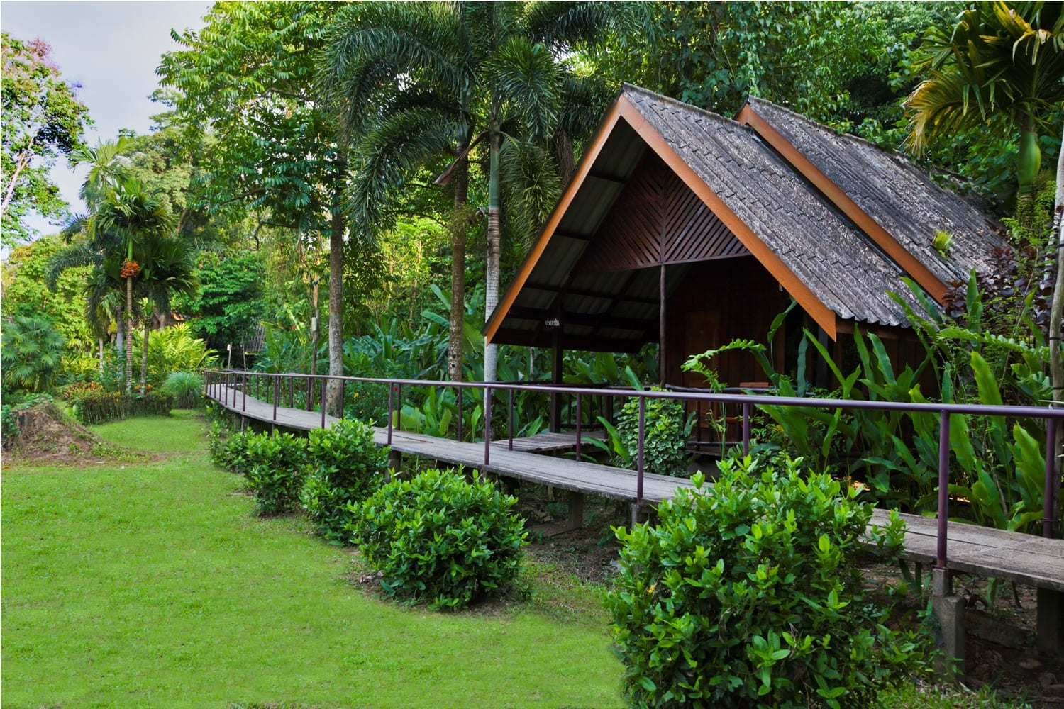 Khao sok riverside cottages accommodation and tours for Perfect cottage