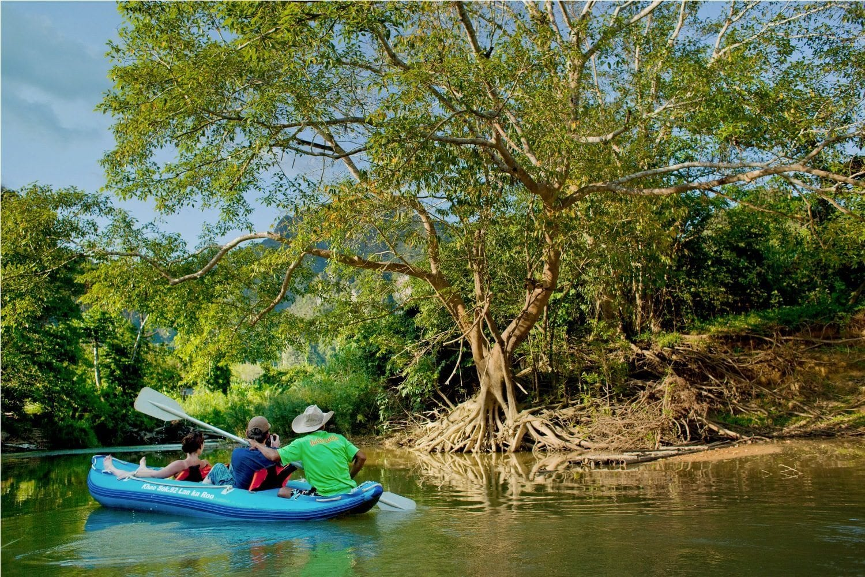 Khao Sok Thailand Canoeing