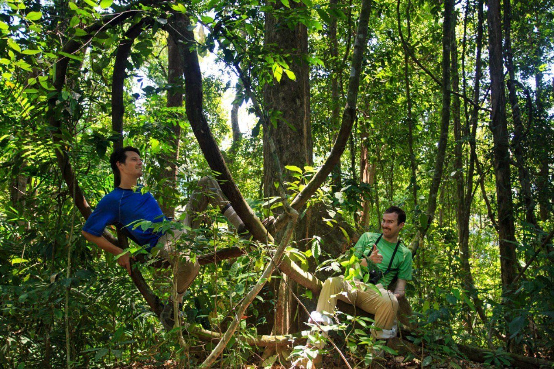 Hiking through the jungles of Khao Sok