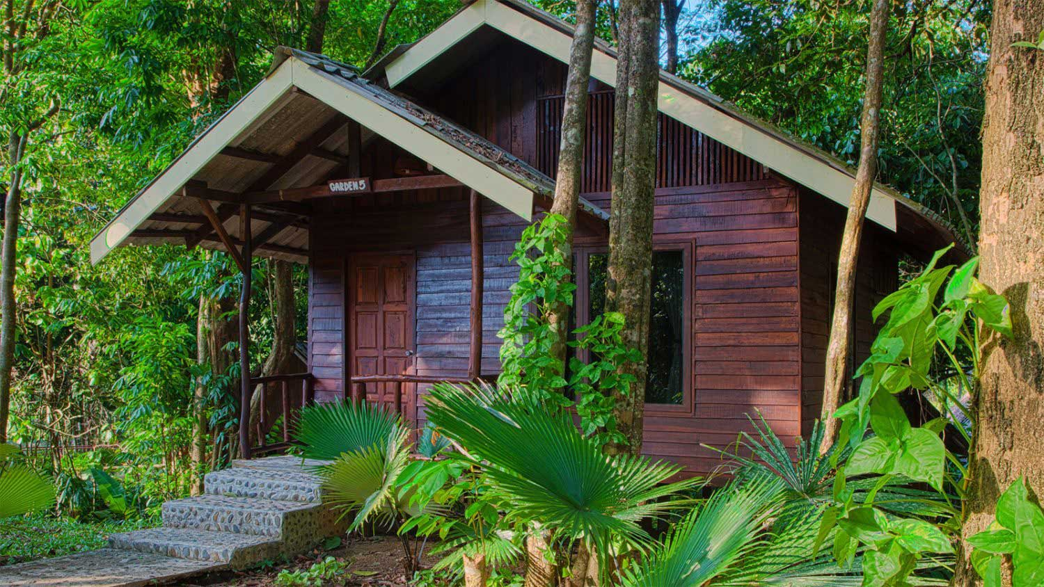 Khao Sok Rainforest accommodation exterior