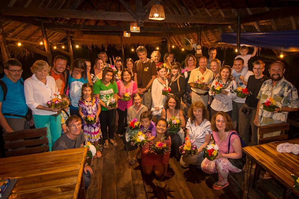 Khao Sok Resort guest celebration