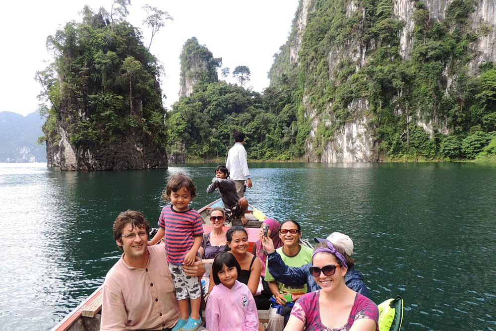 Khao Sok Resort staff trip