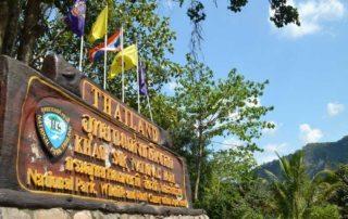 Khao Sok Map National Park