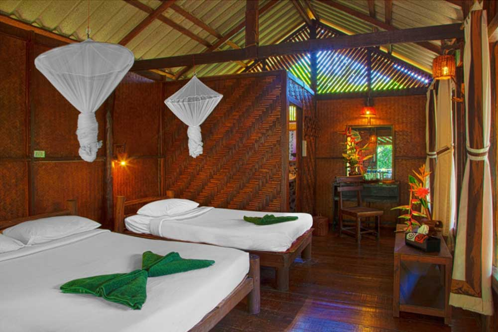 Khao Sok accommodation interior