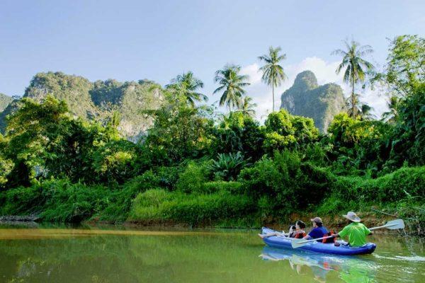 Khao Sok Thailand Canoe
