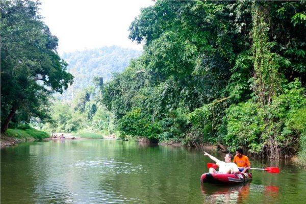 Khao Sok Thailand River Canoe