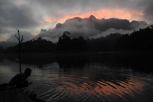 Khao Sok Lake Sunset