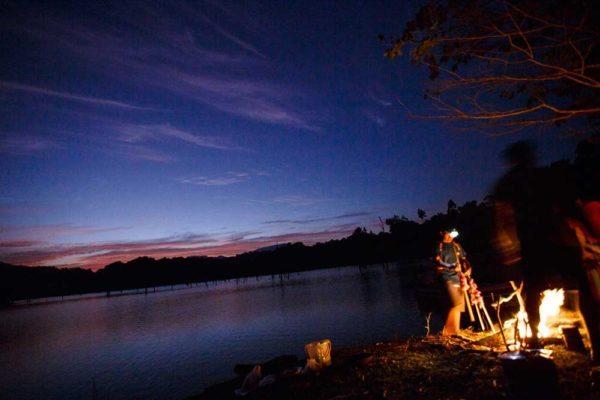 Khao Sok Trekking Campfire