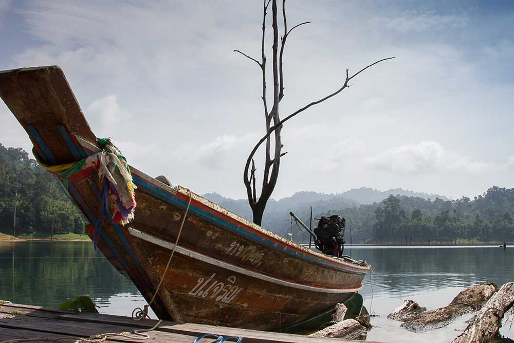 Khao Sok Useful Information Longtail Boat