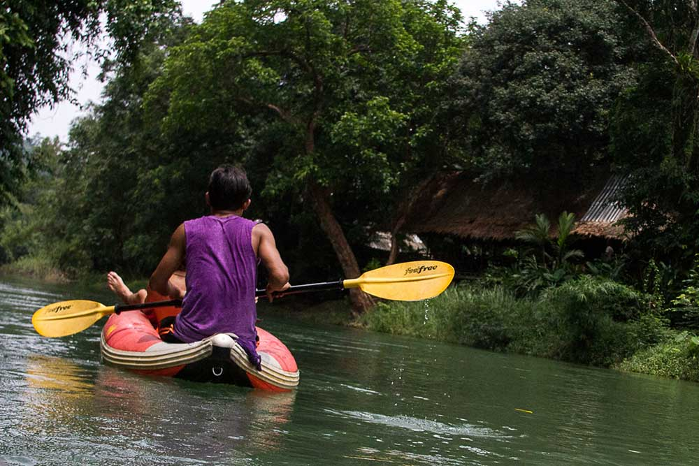 Khao Sok river raft and lake package
