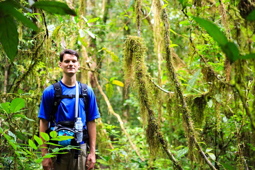 Three day rainforest adventure package