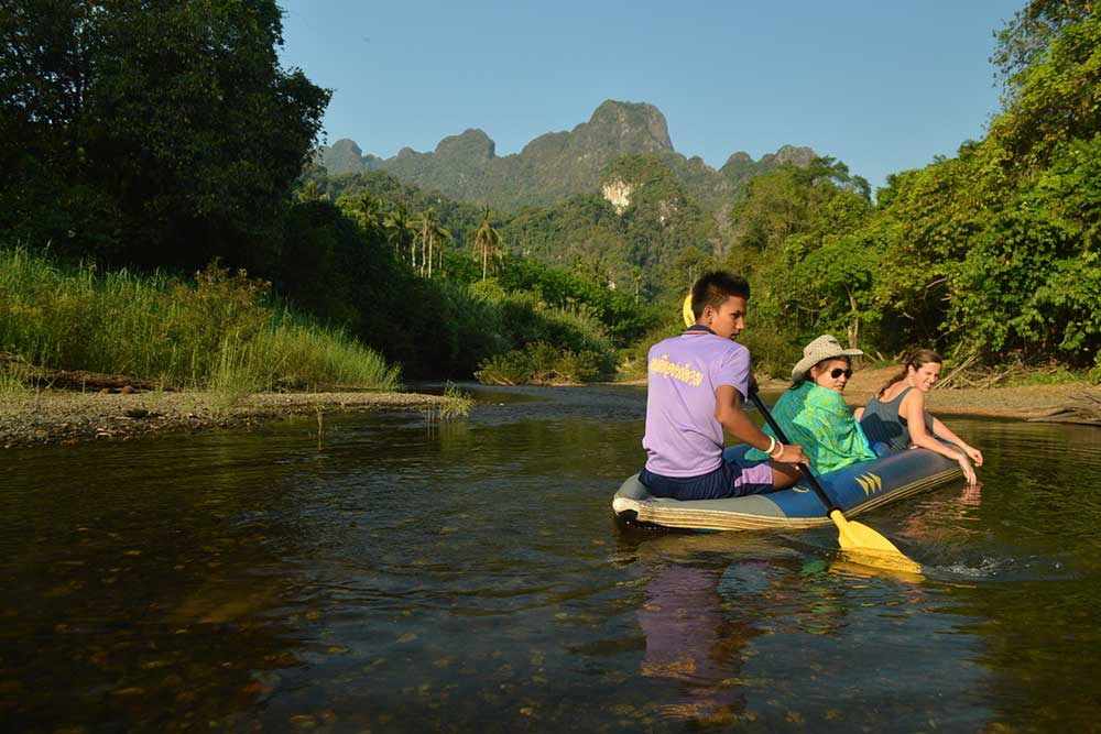 Three day rainforest adventure package Khao Sok