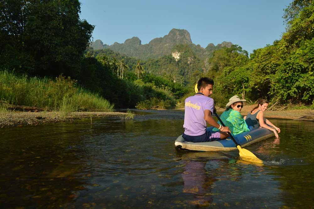 Three day rainforest adventure package Khao Sok