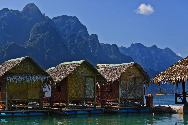 Cheow Larn Lake raft house