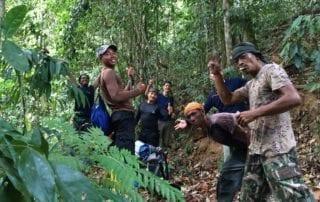 Khao Sok jungle camping team