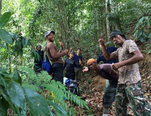 Khao Sok jungle camping: Journey to the Chon Mining area, part 2