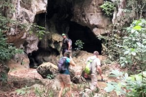 Ready for an underground adventure in Khao Sok park