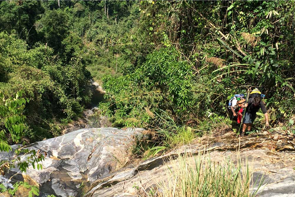 Khao Sok Trekking Climb - Khao Sok jungle camping
