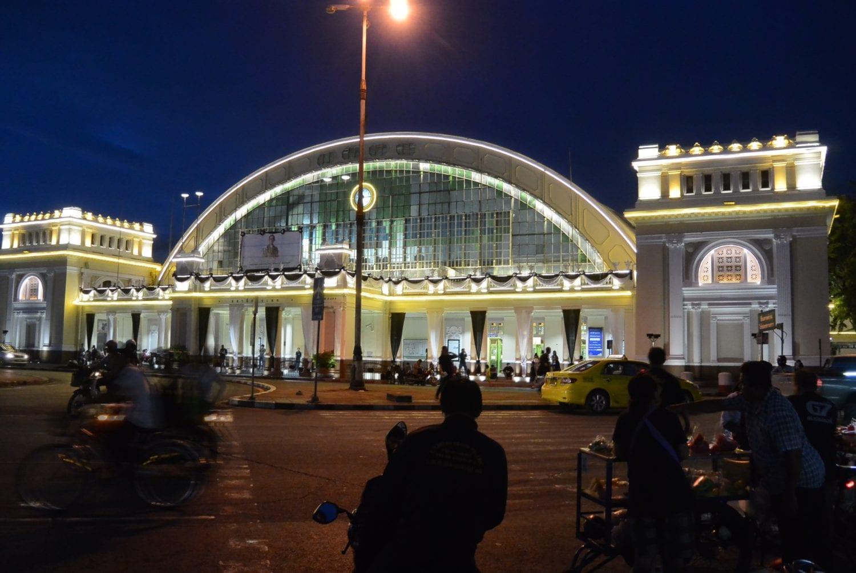 Train from Bangkok to Khao Sok: Hua Lampong station, Bangkok