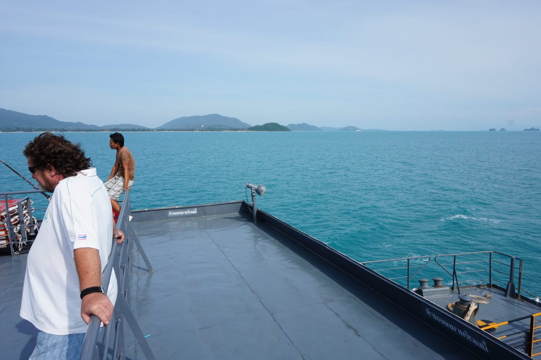 Khao Sok to Koh Samui by ferry