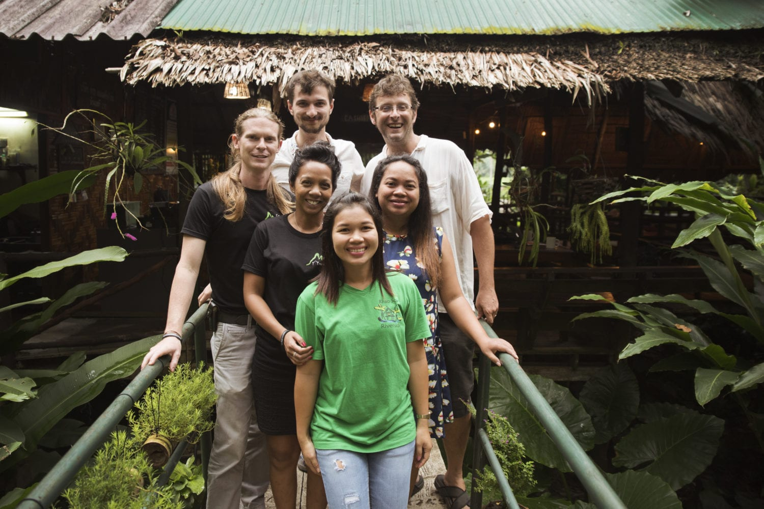 Khao Sok Nature resort staff