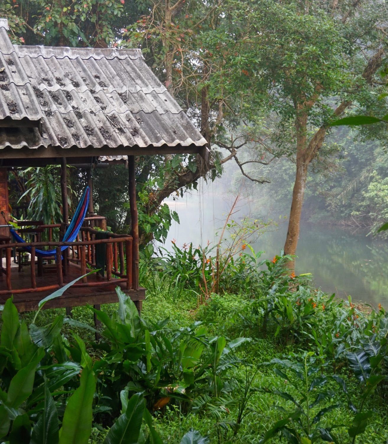 Khao Sok National Park weather riverside