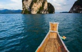 Khao Sok National Park weather dry season lake