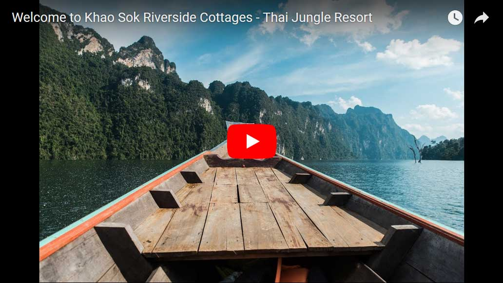 Khao Sok Riverside Cottages - khao sok thailand