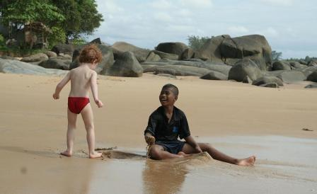 Southern Thailand Travel homestay kids