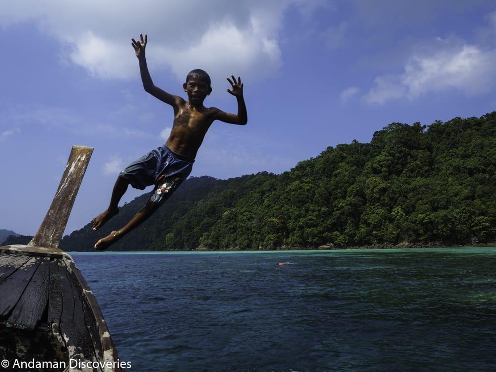Southern Thailand travel Surin Islands