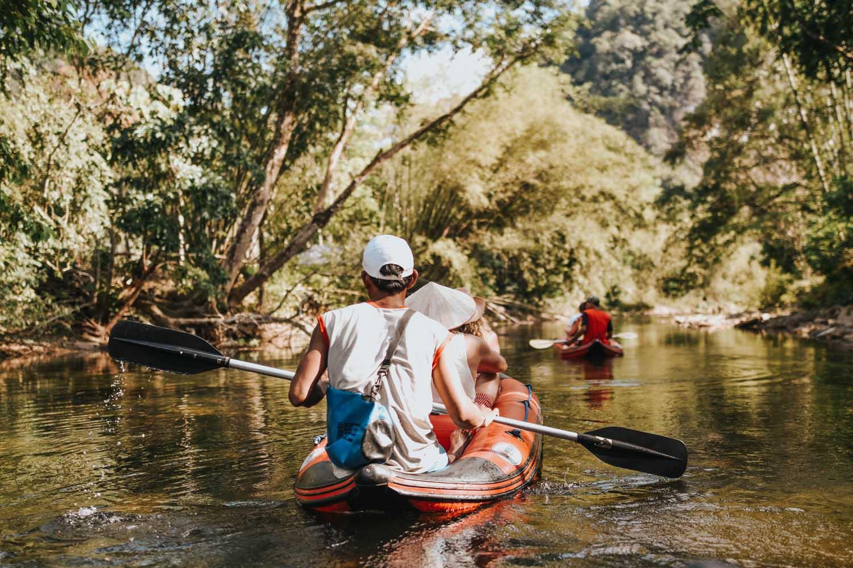 Khaosok canoe trip