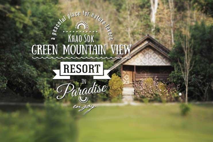 khao sok national park hotels - Green Mountain View