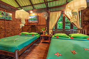 Khao Sok Riverside Cottages Rooms