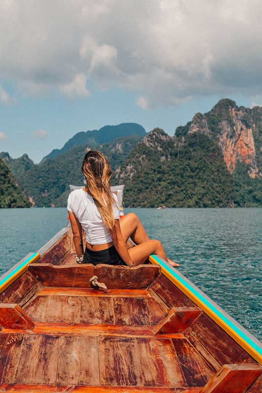 Cheow Larn lake trip